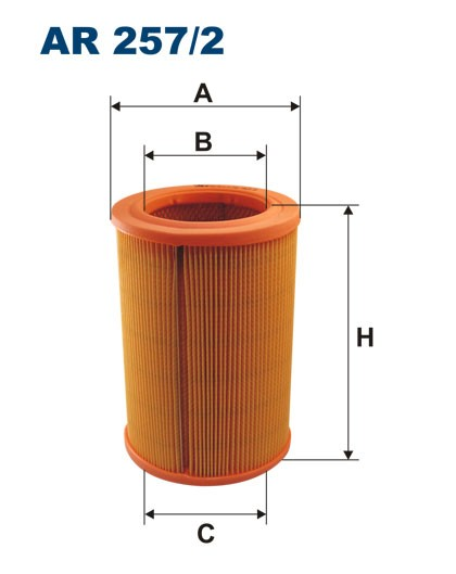 Filtr powietrza AR 257/2 [AR2572] FILTRON