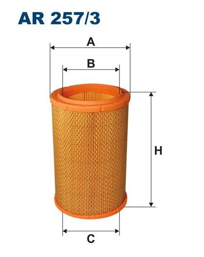 Filtr powietrza AR 257/3 [AR2573] FILTRON