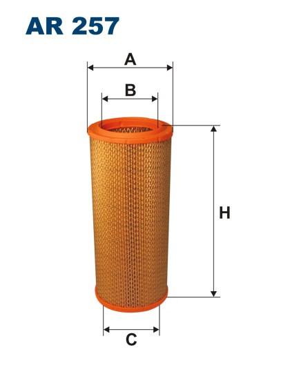 Filtr powietrza AR 257 [AR257] FILTRON