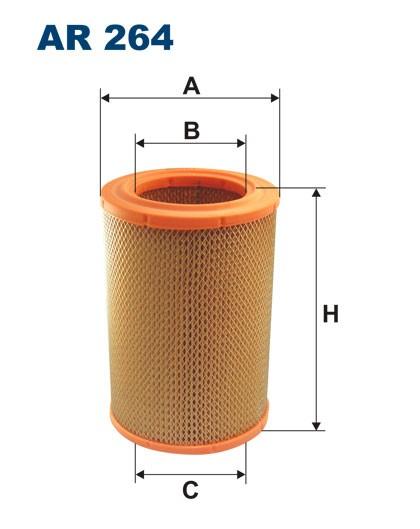 Filtr powietrza AR 264 [AR264] FILTRON