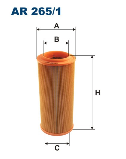 Filtr powietrza AR 265/1 [AR2651] FILTRON