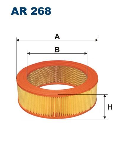 Filtr powietrza AR 268 [AR268] FILTRON