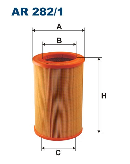 Filtr powietrza AR 282/1 [AR2821] FILTRON