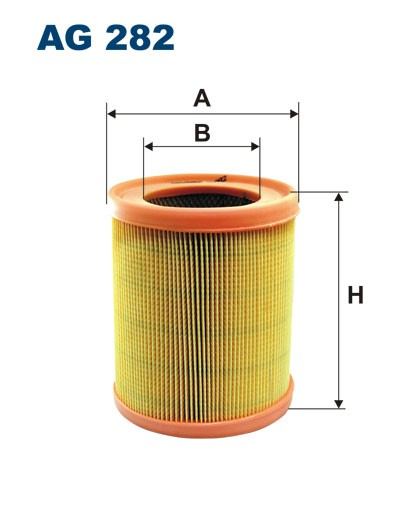 Filtr powietrza AR 282 [AR282] FILTRON