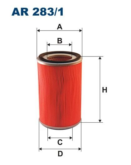 Filtr powietrza AR 283/1 [AR2831] FILTRON