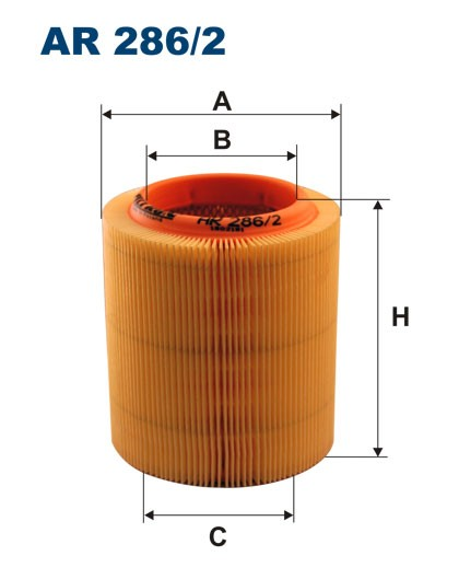 Filtr powietrza AR 286/2 [AR2862] FILTRON