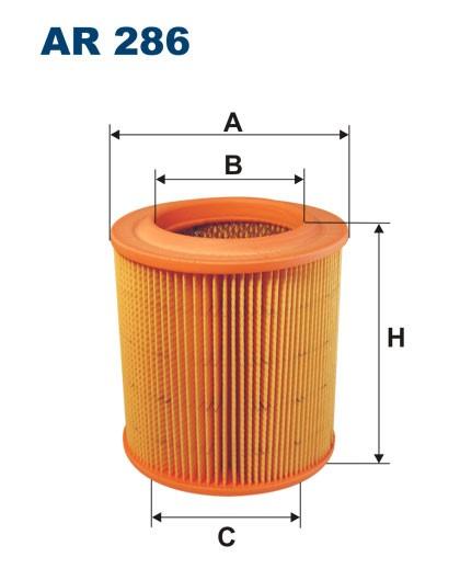 Filtr powietrza AR 286 [AR286] FILTRON
