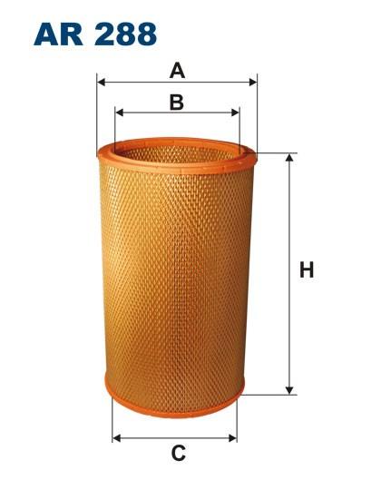 Filtr powietrza AR 288 [AR288] FILTRON
