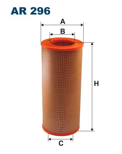 Filtr powietrza AR 296 [AR296] FILTRON