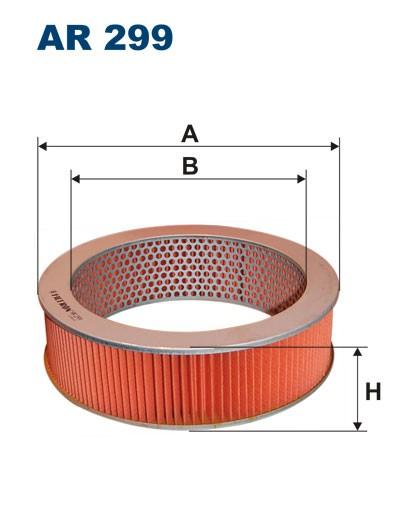 Filtr powietrza AR 299 [AR299] FILTRON