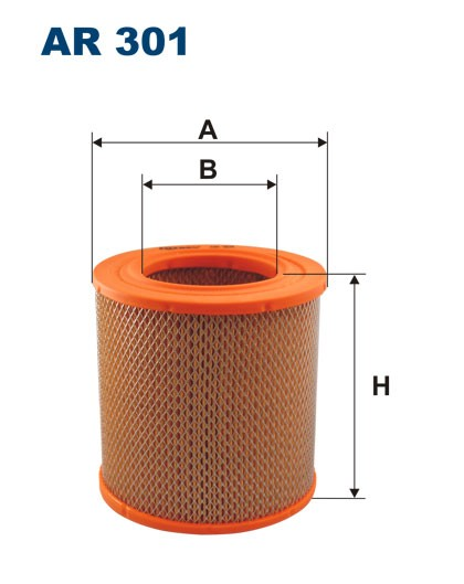 Filtr powietrza AR 301 [AR301] FILTRON