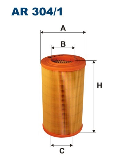 Filtr powietrza AR 304/1 [AR3041] FILTRON