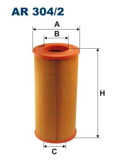 Filtr powietrza AR 304/2 [AR3042] FILTRON
