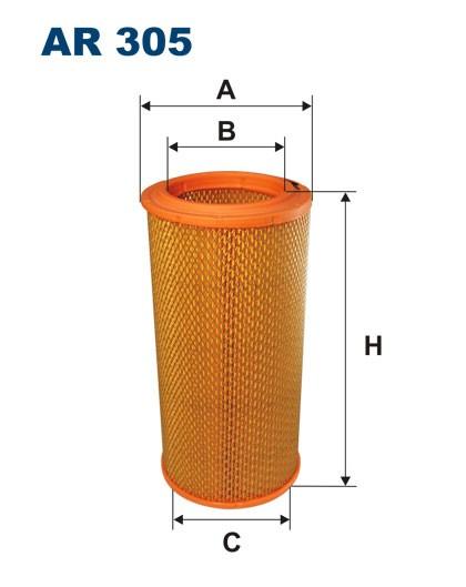 Filtr powietrza AR 305 [AR305] FILTRON