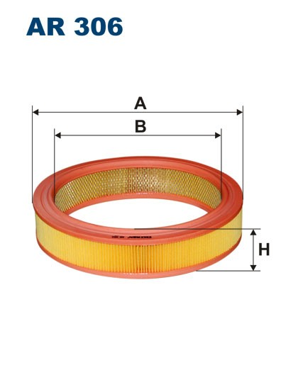 Filtr powietrza AR 306 [AR306] FILTRON