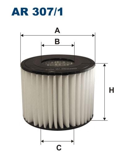 Filtr powietrza AR 307/1 [AR3071] FILTRON