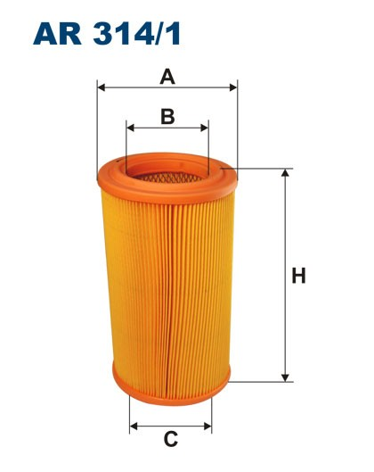 Filtr powietrza AR 314/1 [AR3141] FILTRON