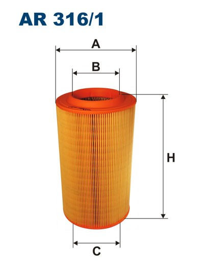 Filtr powietrza AR 316/1 [AR3161] FILTRON