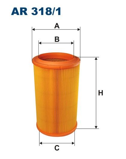 Filtr powietrza AR 318/1 [AR3181] FILTRON