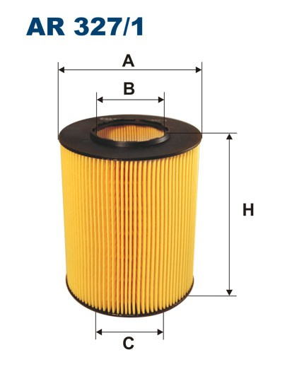 Filtr powietrza AR 327/1 [AR3271] FILTRON
