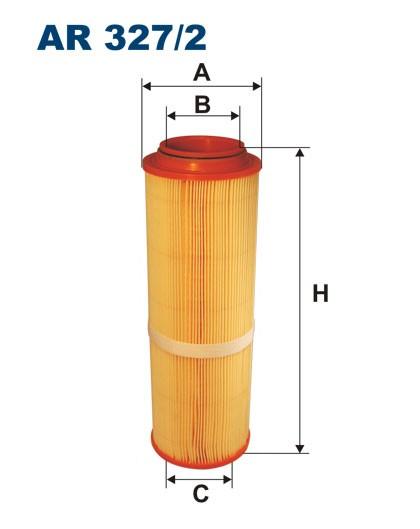 Filtr powietrza AR 327/2 [AR3272] FILTRON