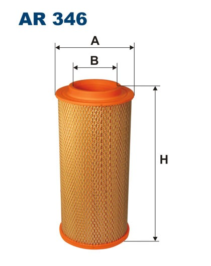 Filtr powietrza AR 346 [AR346] FILTRON