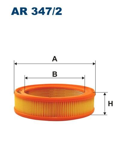 Filtr powietrza AR 347/2 [AR3472] FILTRON