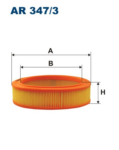 Filtr powietrza AR 347/3 [AR3473] FILTRON