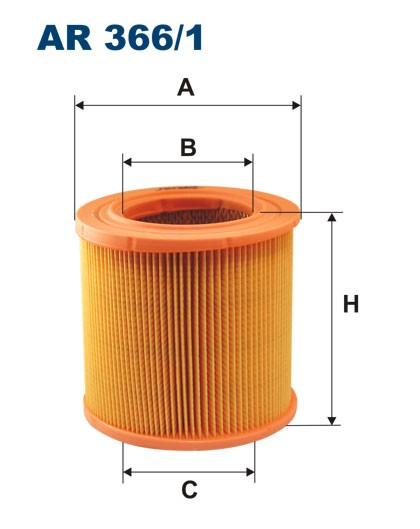 Filtr powietrza AR 366/1 [AR3661] FILTRON