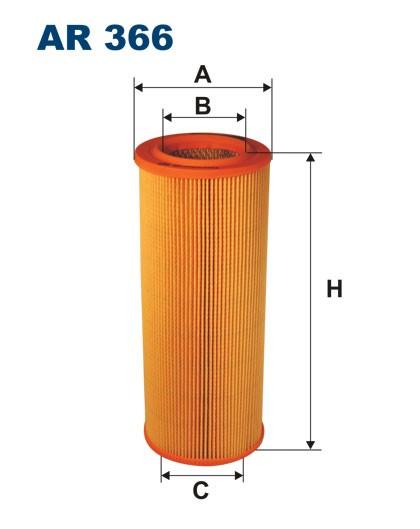 Filtr powietrza AR 366 [AR366] FILTRON