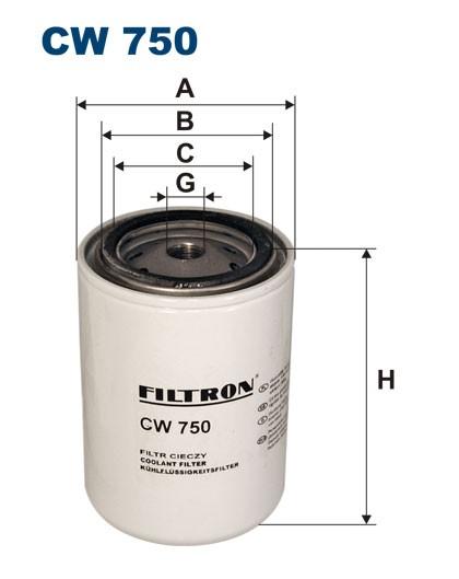 Filtr cieczy chłodzących CW 750 (CW750) FILTRON