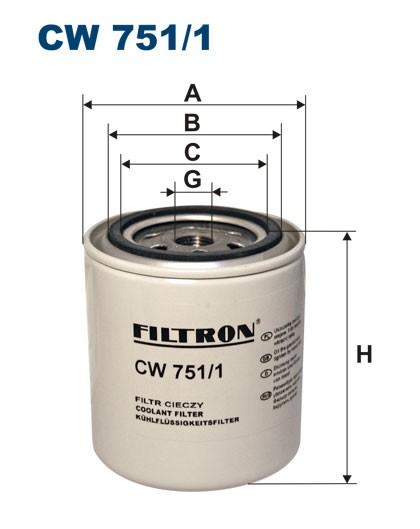 Filtr cieczy chłodzących CW 751/1 (CW7511) FILTRON