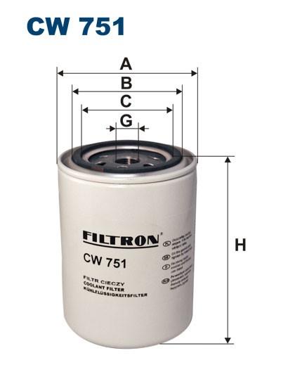 Filtr cieczy chłodzących CW 751 (CW751) FILTRON