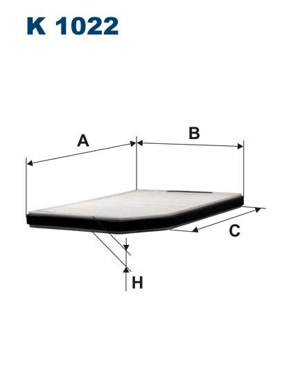 Filtr kabinowy K 1022 (K1022) FILTRON