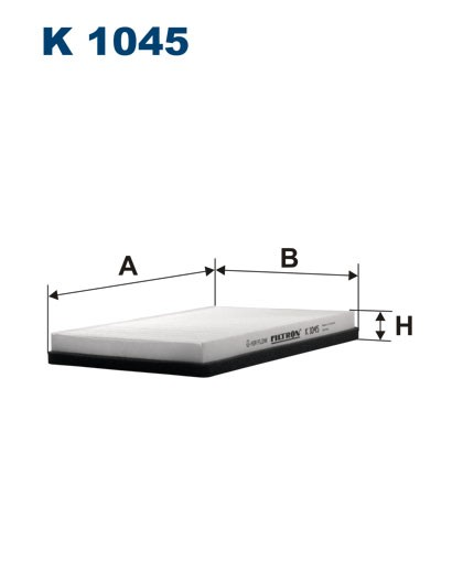 Filtr kabinowy K 1045 (K1045) FILTRON