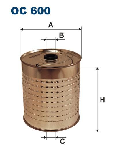 Filtr oleju OC 600 (OC600) FILTRON