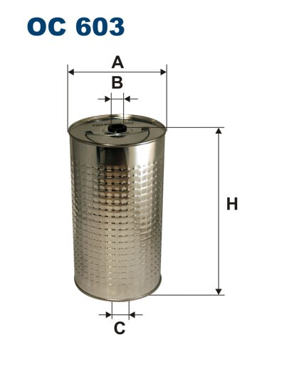 Filtr oleju OC 603 (OC603) FILTRON