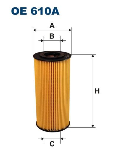 Filtr oleju OE 610A (OE610A) FILTRON
