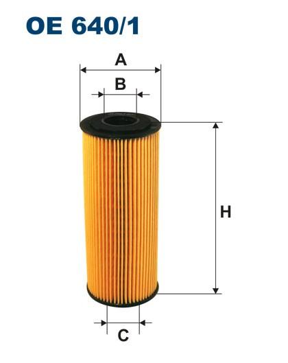 Filtr oleju OE 640/1 (OE6401) FILTRON