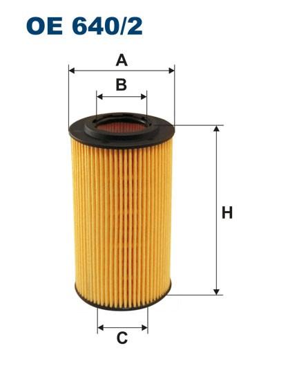 Filtr oleju OE 640/2 (OE6402) FILTRON