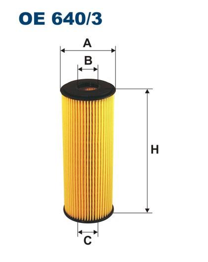 Filtr oleju OE 640/3 (OE6403) FILTRON