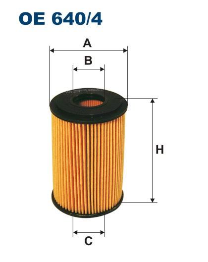 Filtr oleju OE 640/4 (OE6404) FILTRON