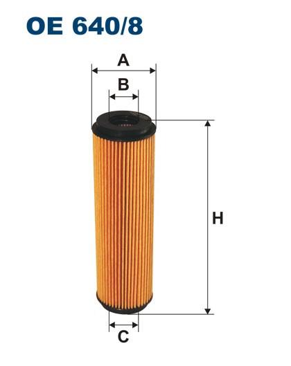 Filtr oleju OE 640/8 (OE6408) FILTRON