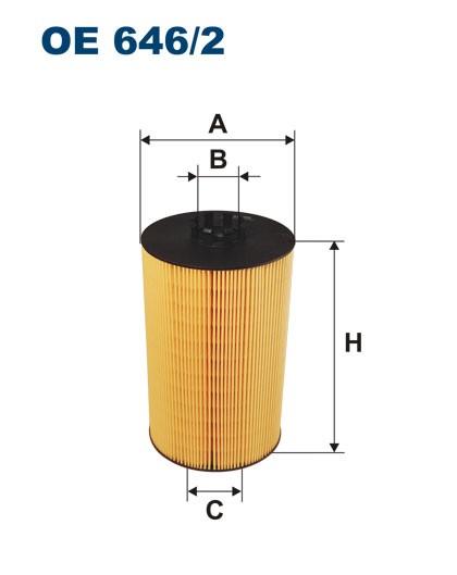 Filtr oleju OE 646/2 (OE6462) FILTRON