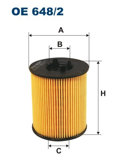 Filtr oleju OE 648/2 (OE6482) FILTRON