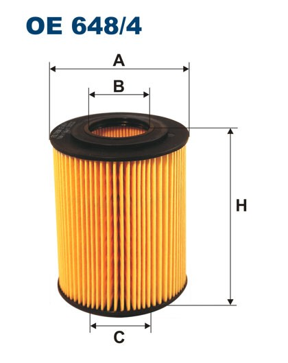 Filtr oleju OE 648/4 (OE6484) FILTRON