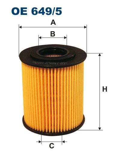 Filtr oleju OE 649/5 (OE6495) FILTRON