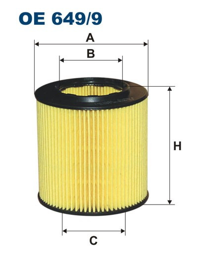 Filtr oleju OE 649/9 (OE6499) FILTRON
