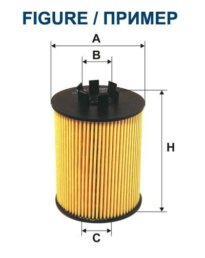 Filtr oleju OE 650/3 FILTRON [OE6503]