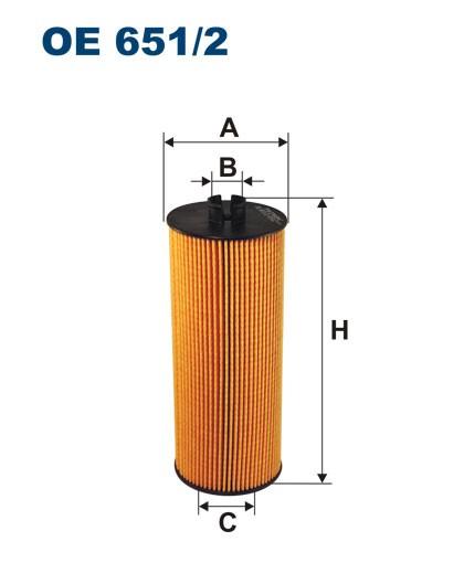 Filtr oleju OE 651/2 (OE6512) FILTRON
